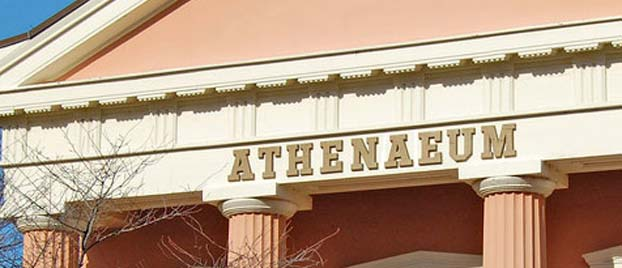Outside view of the Athenaeum.