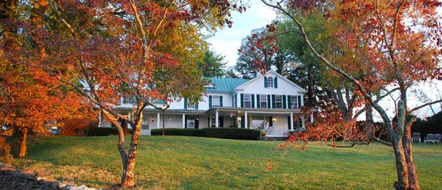 Outside view of Briar Patch Bed and Breakfast.