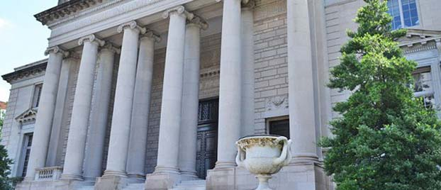 Outside view of the Carnegie Institution for Science