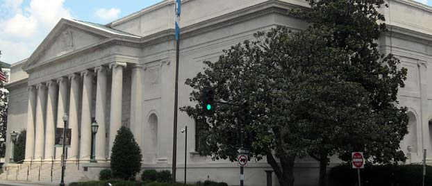 Outside view of DAR Constitution Hall
