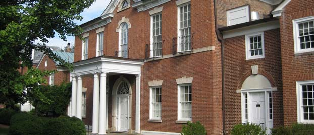 Outside view of the Dumbarton House