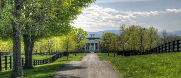 Entrance into the Long Branch Plantation