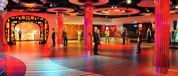 Event space at Madame Tussauds
