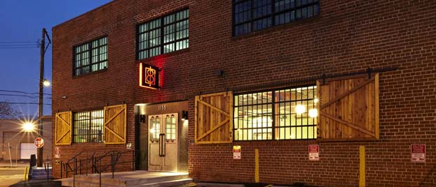 Outside view of One Eight Distilling