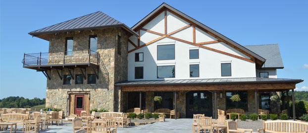 Outside view of Stone Tower Winery