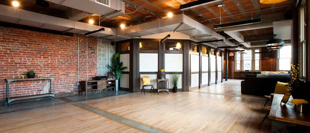 Event space at The Loft at 600 F