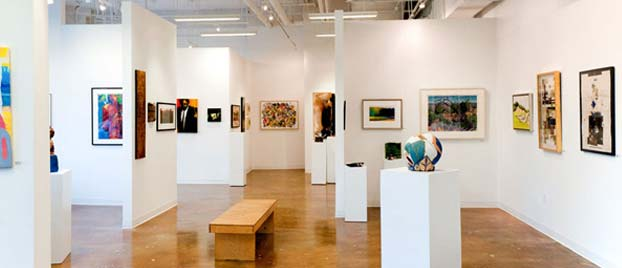 Event space at Touchstone Gallery