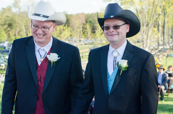 Matt and Brad Country Wedding