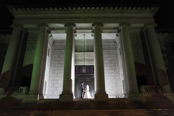 DC Wedding at Carnegie Science Institute