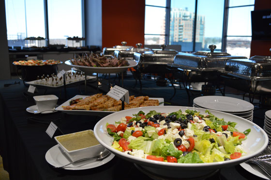 Delicious Food Buffet
