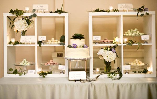 Wedding Dessert Station, Cake and Petite Treats