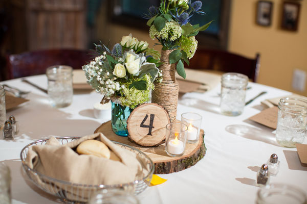 Woodsy Tablescape Design