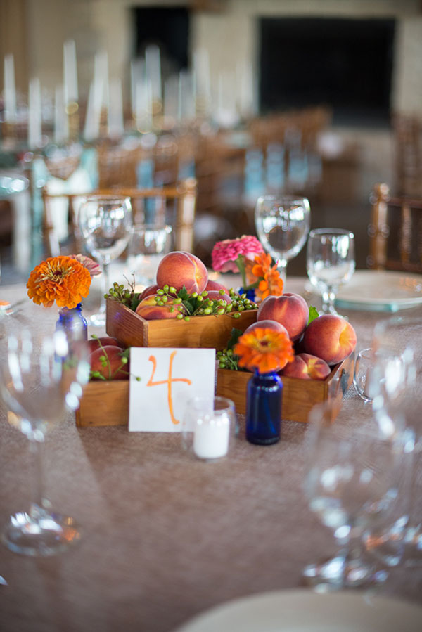 Tantalizing Fruit Centerpieces Weddings