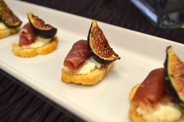 Caramelized Fig Ficelle Croustade