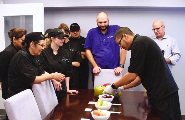 Team at Purple Onion