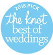 2018 Pick the knot best of Weddings - Purple Onion Catering Co.