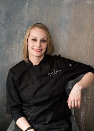 Gabi Yushinski, Executive Sous Chef at Purple Onion Catering Co.