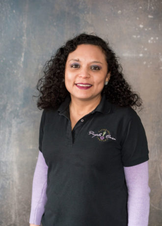 Jessica Zapata, Warehouse Manager at Purple Onion Catering Co.