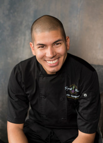 Kyle Gragasin, Executive Chef at Purple Onion Catering Co.