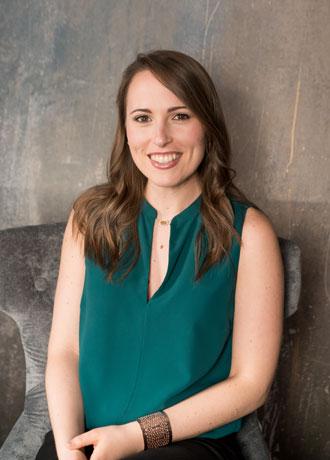 Kristen Genton, Event Designer at Purple Onion Catering Co.